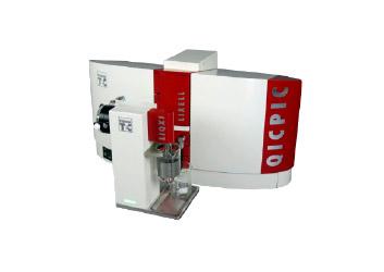 QicPic Formato e Tamanho de Particulas.