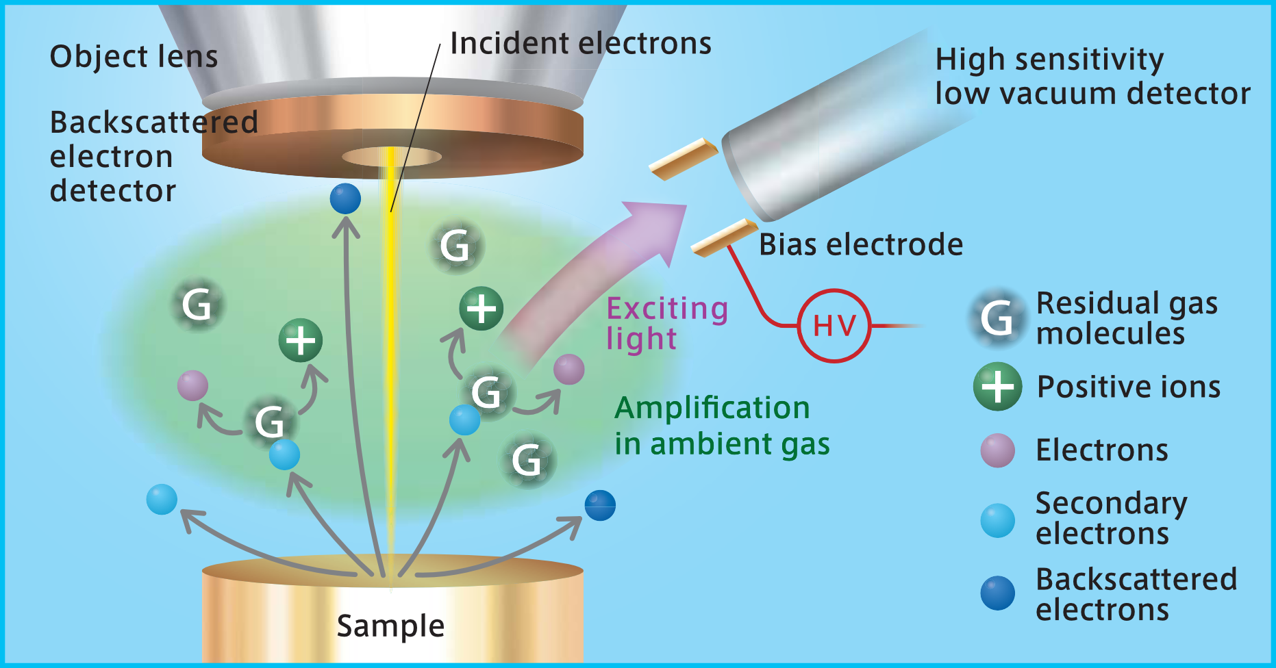 UVD Detector Principle