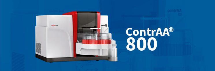 Foto de Inovação Tecnológica é nosso compromisso! A dpUNION e a Analytik Jena apresentam o contrAA® 800