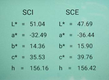 Modeos de leitura do Espectrofotômetro CS-820N Colorspec