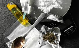 teste de drogas ilegais