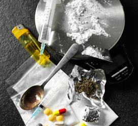 teste de drogas ilegais por rmn de bancada