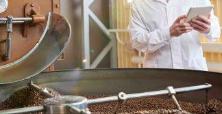 análise de impurezas na indústria de alimentos
